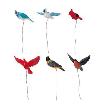 Assorted Birds, Set Of 6
