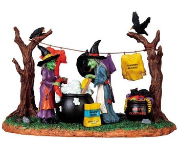 Witches Laundry Day