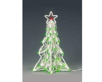 Lighted Sculpture-Christmas Tree Large