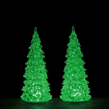 Crystal Lighted Tree, 3 Color Changeable, Medium