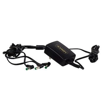 4.5V 3-Output Adapter Black Fixed EU Plug improved