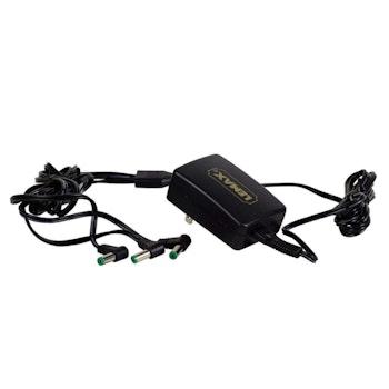 4.5V 3-Output Adapter Black Changeable Plug improved