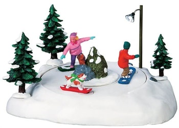 Snowboarding Friends