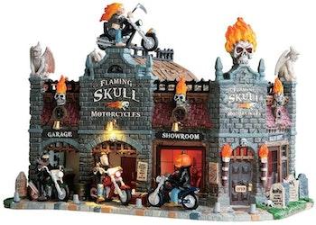 Flaming Skull Motorcycles