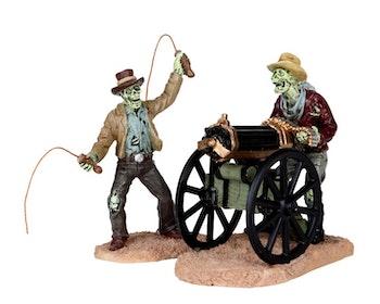 Bullwhip Ghoul & Gatling Gun Ghoul