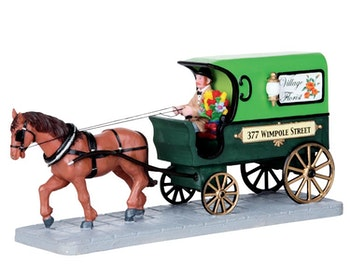 Florist Delivery Wagon