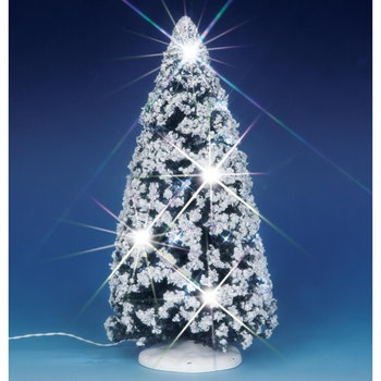 9 in.Sparkling Winter Tree