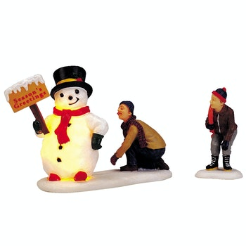 Frosty's Friendly Greeting