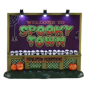 Spookytown Sign