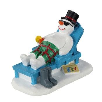 Relaxing Snowman