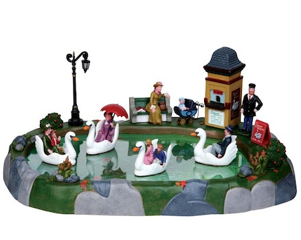 Swan Boat Rides Set Of 11