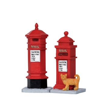 Victorian Mailboxes, Set Of 2