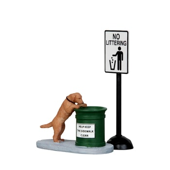 No Littering, Set Of 2