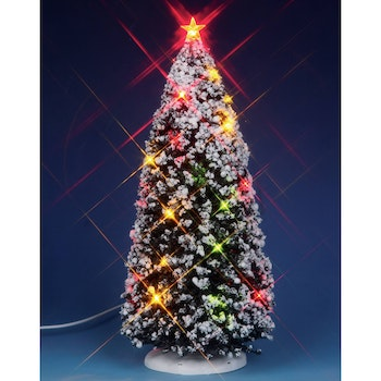 9 in. Lighted Christmas Tree
