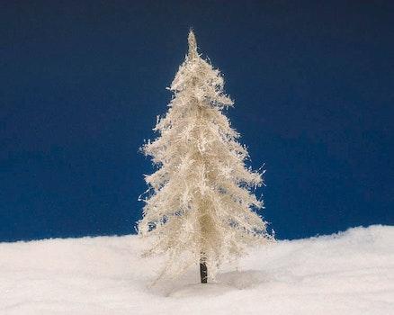9 Glittering Fir - White