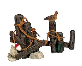 Wooden Mooring