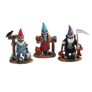 Skeleton Garden Gnomes
