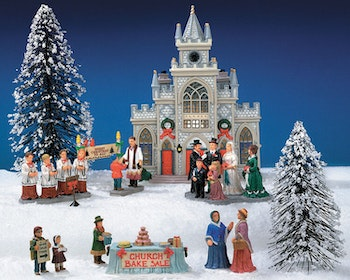 12-Pc St. Nicholas Church Kit