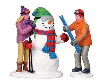 Skier Snowman