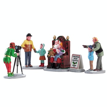 Photos With Santa, Set Of 5