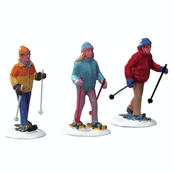 Snowshoe Walkers, Set Of 3