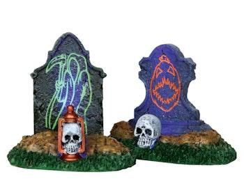 Backlit Tombstones