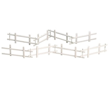 Wooden Corral Fence