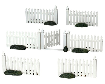 Plastic Picket Fence