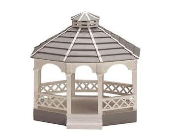 Wooden Gazebo - Oval
