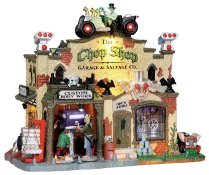 The Chop Shop Garage and Salvage Co