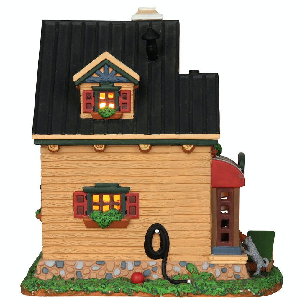 Lemax 25387 CLAWS /& PAWS PET HOTEL Christmas Village Building