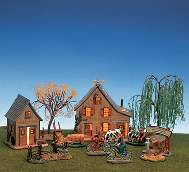 Aogg - Green Gables Barn Set