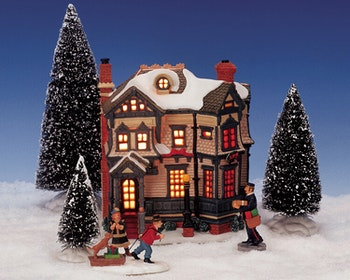 7Pc Gingerbread House Set