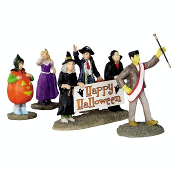 Halloween Parade Banner, Set Of 5