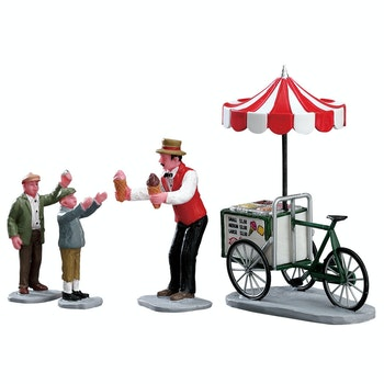 Gelato Cart, Set Of 4