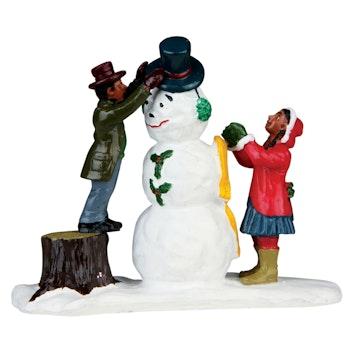 Dressing Mr. Snowman
