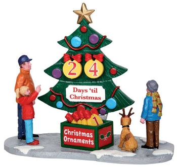 Countdown Tree  Set Of 7