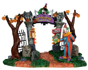 Spookytown Carnival Gate