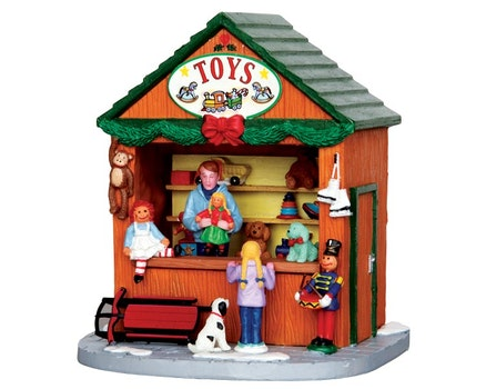 Christmas Market Scene Toys