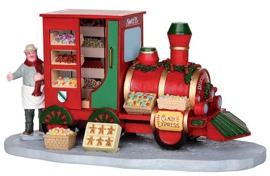 Christmas Market Candy Seller