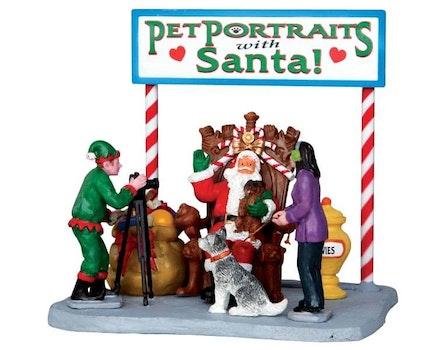 Pet Photos Santa