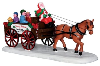 Santa's Wagon Ride