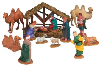 Nativity, Set Of 14