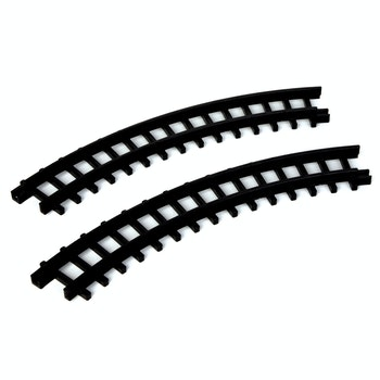 2-PC Curved Track For Christmas Express