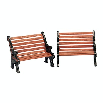 Park Bench, Set Of 2