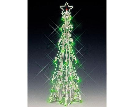 Lighted Sculpture -Slim Christmas Tree Large