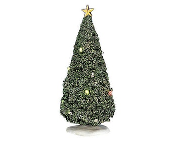 Shimmering Flashing Christmas Tree