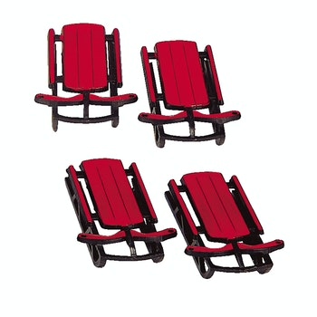 Sled, Set Of 4