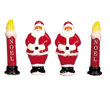 Yard Light - Santa/ Candle