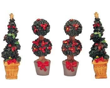 Swirl-Shaped & Round Christmas Tree